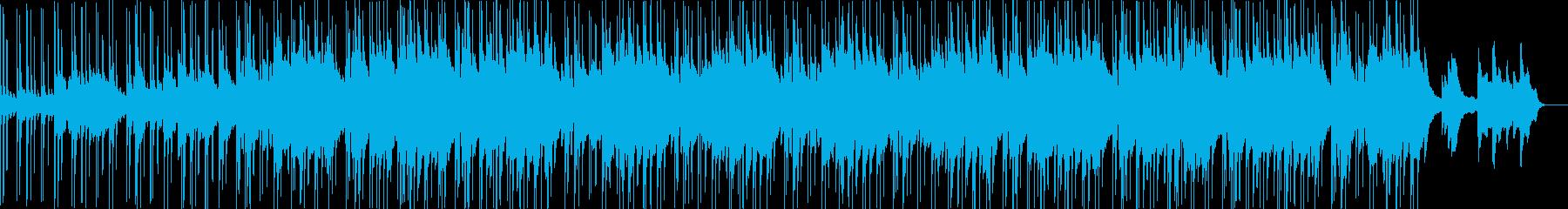 ダークなR&B系のビートですの再生済みの波形