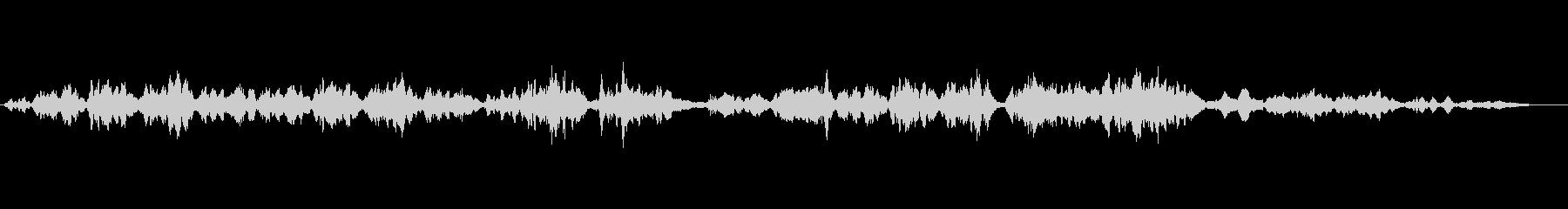生演奏の弦楽二重奏「愛の挨拶」バイオリンの未再生の波形