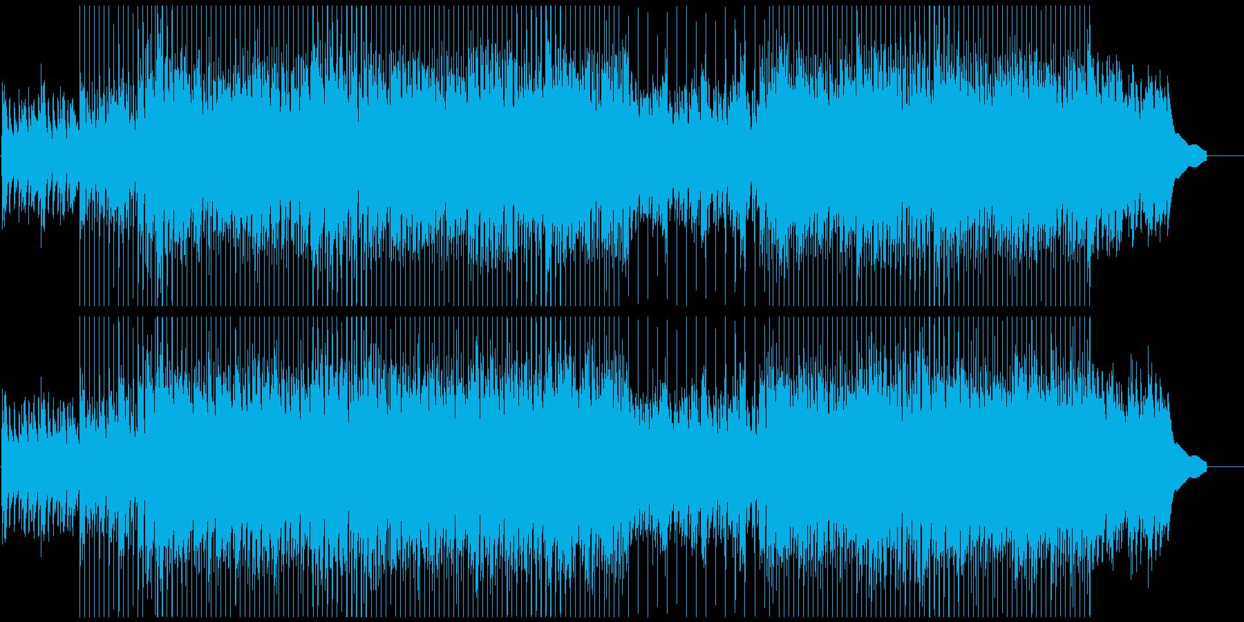 ポジティブ/コーポレート/企業VPの再生済みの波形