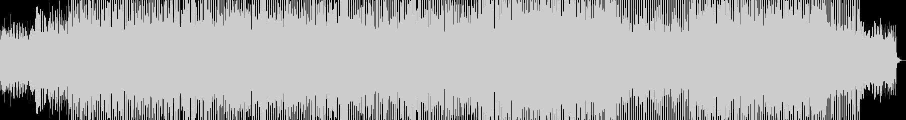爽やかなエレクトロポップの未再生の波形