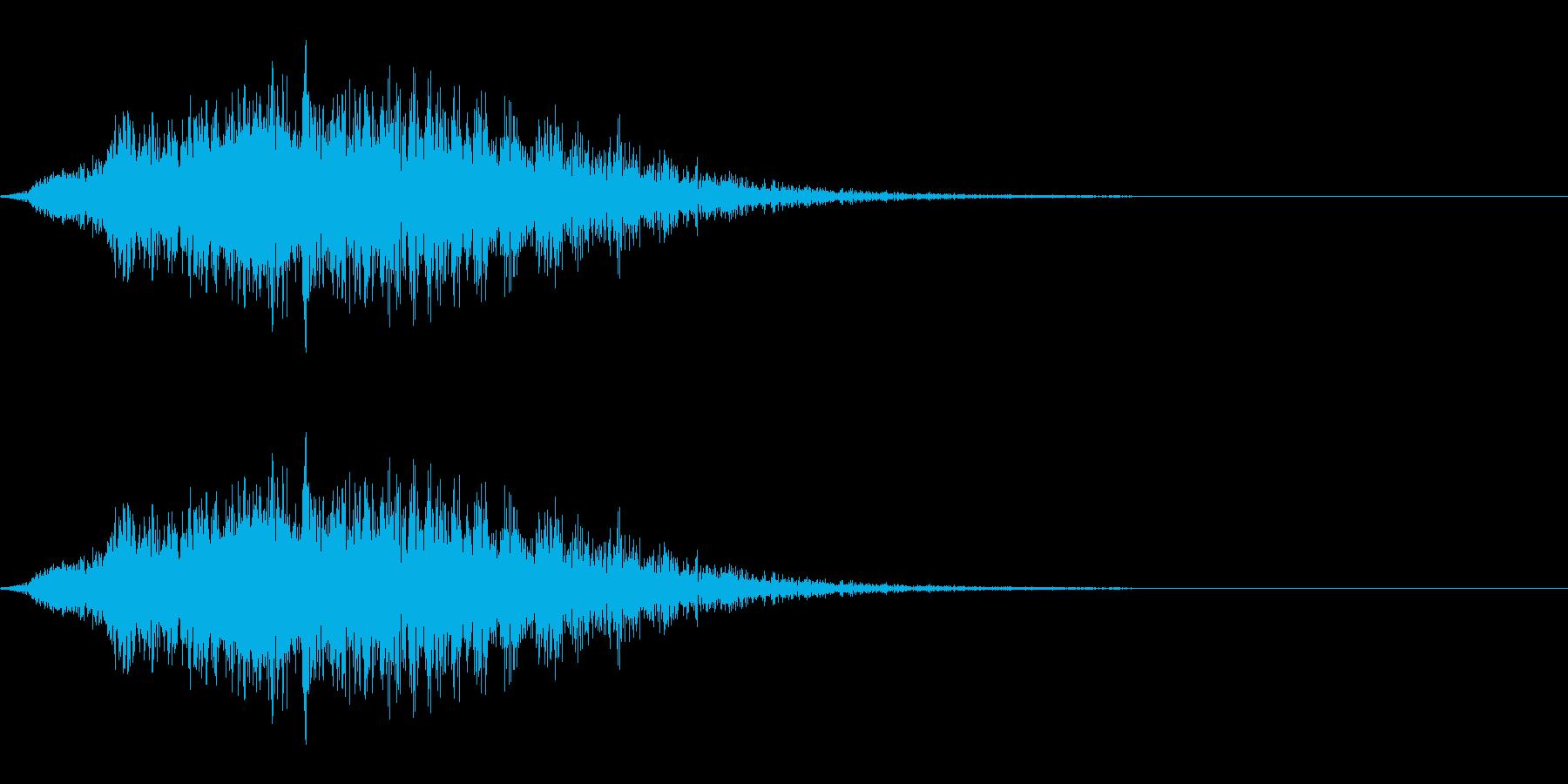 パワーダウン/睡眠魔法/場面転換の再生済みの波形