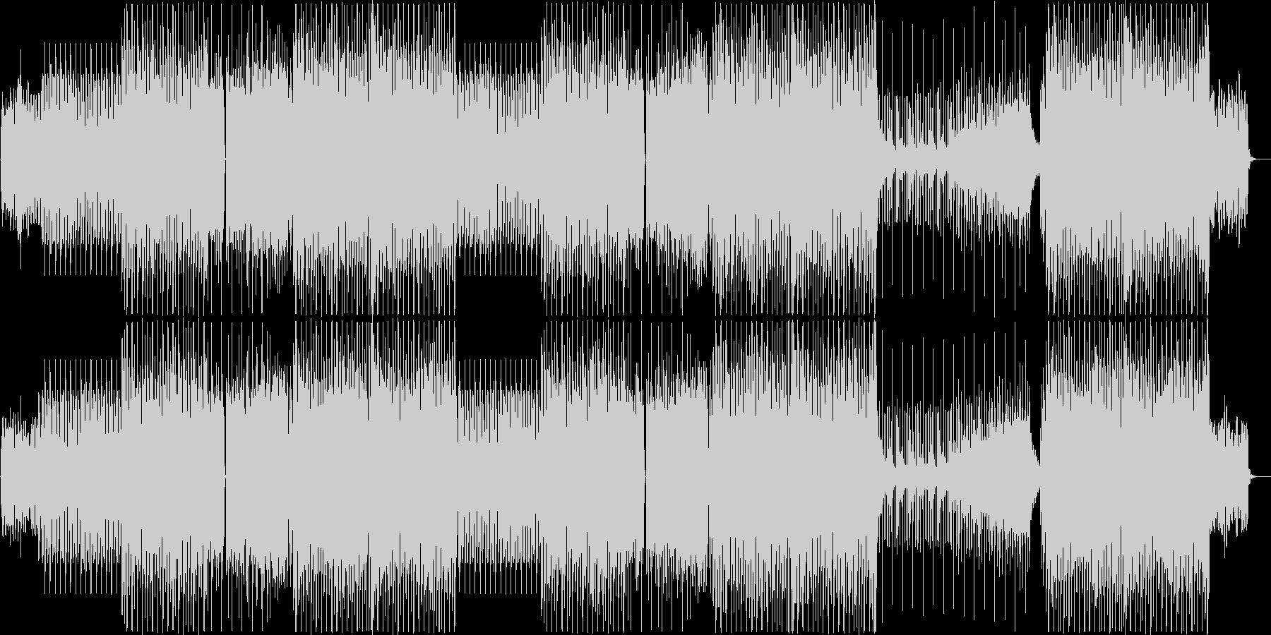 K-Pop、ディープハウス、EDMビートの未再生の波形