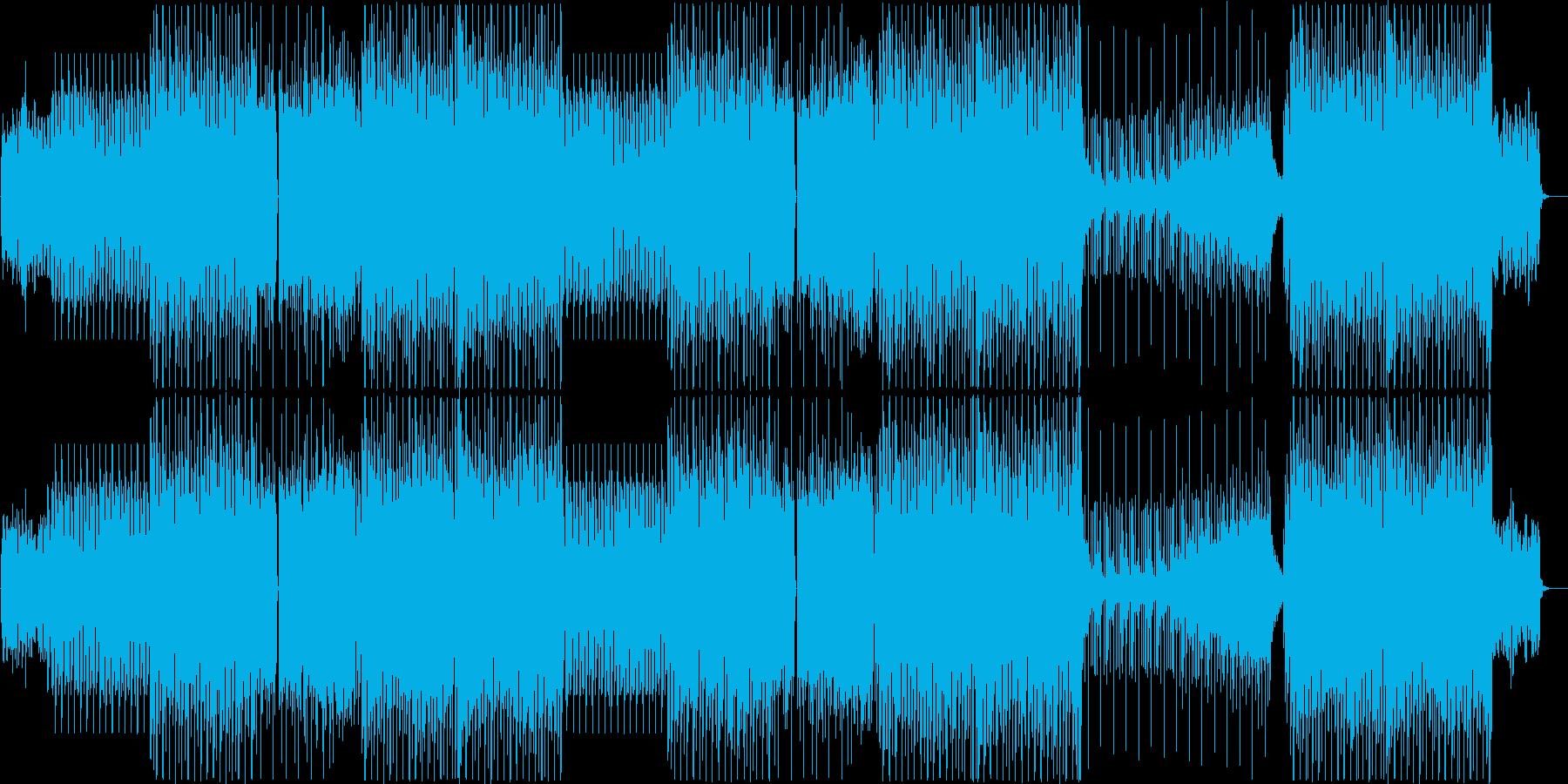 K-Pop、ディープハウス、EDMビートの再生済みの波形
