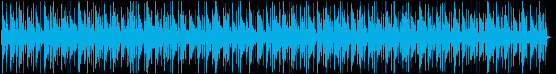 マリンバを使った爽やかなBGMですの再生済みの波形