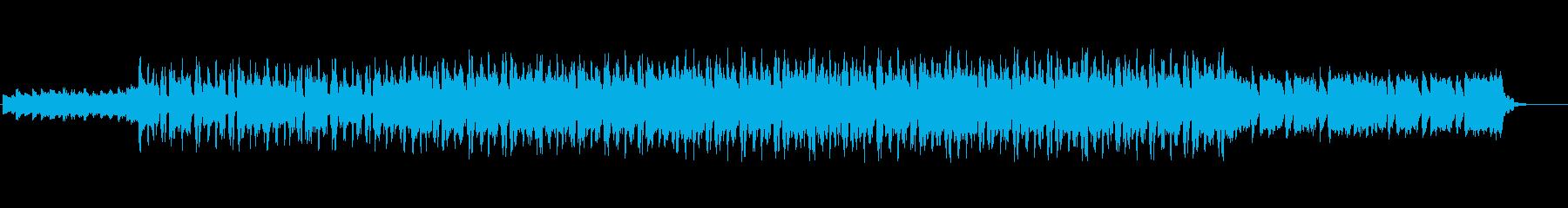 幻想的で少し切ないアンビエントBGMの再生済みの波形