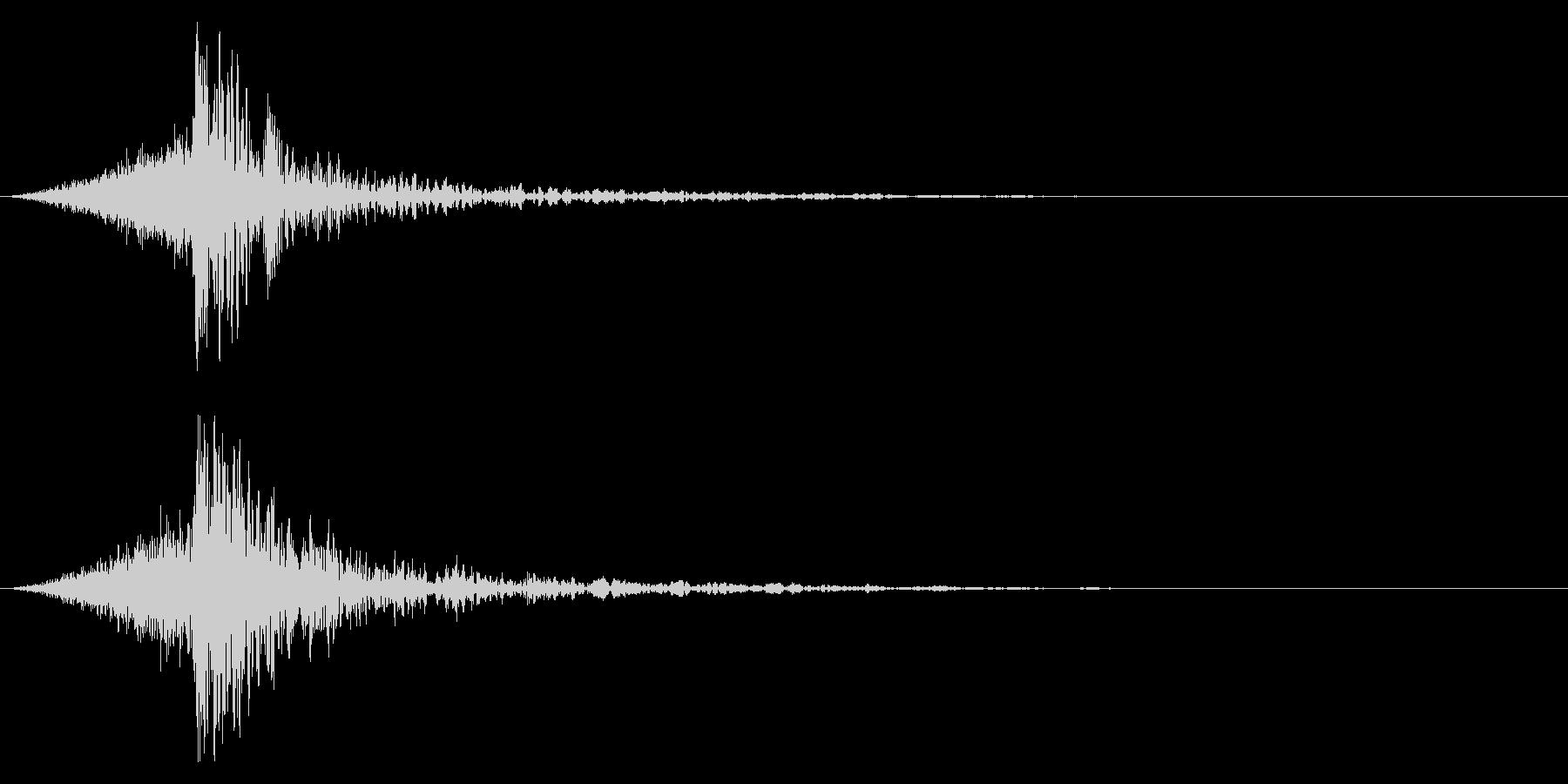 シュードーン-59-4(インパクト音)の未再生の波形