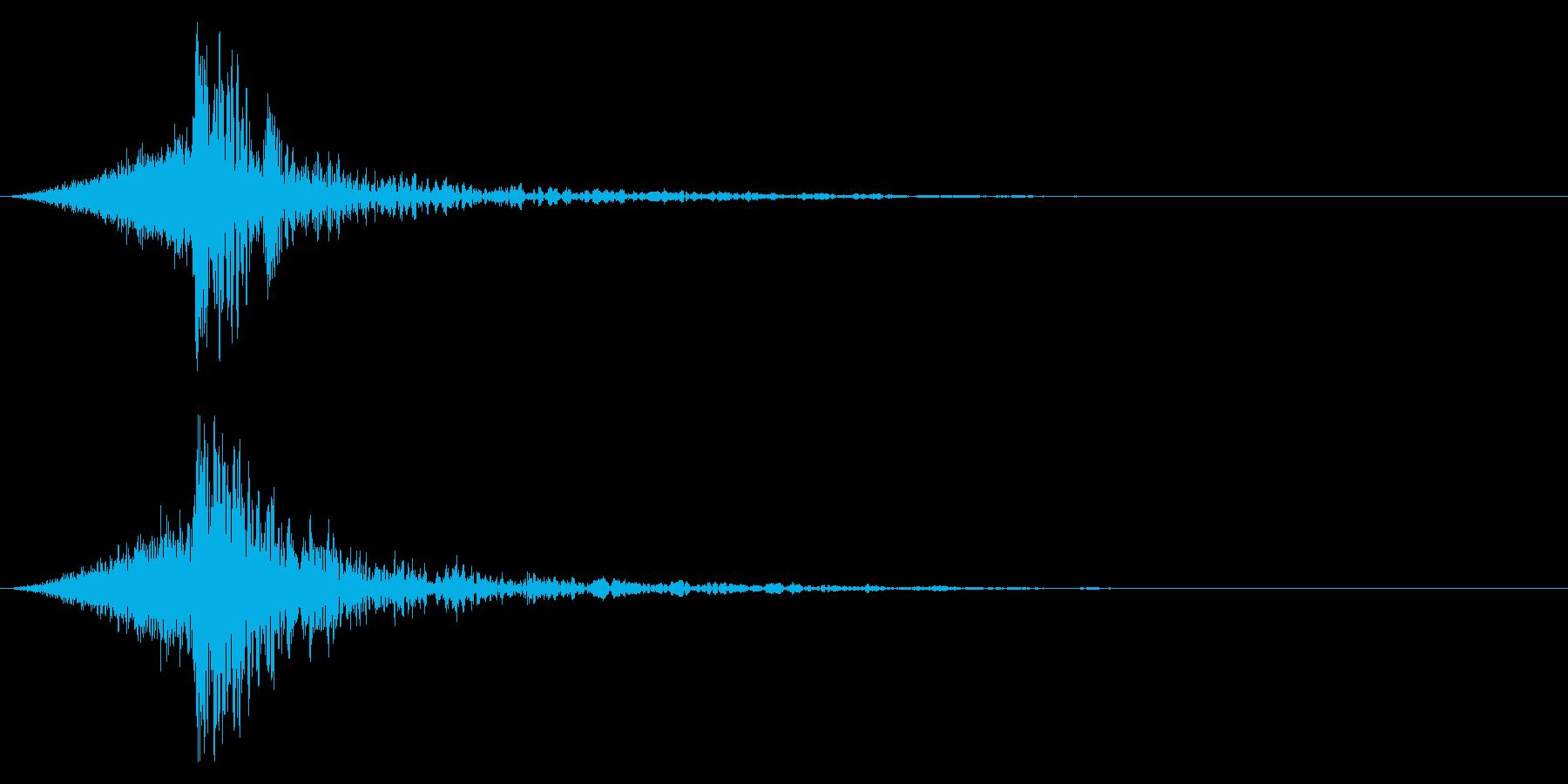 シュードーン-59-4(インパクト音)の再生済みの波形