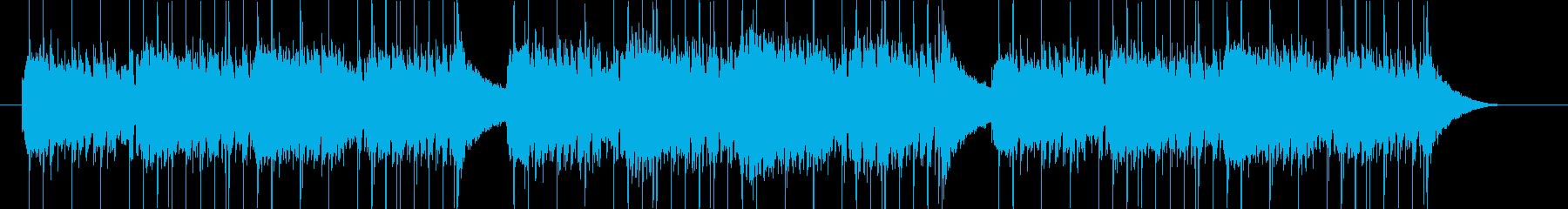 ポップでかわいいアメリカ童謡カバーの再生済みの波形