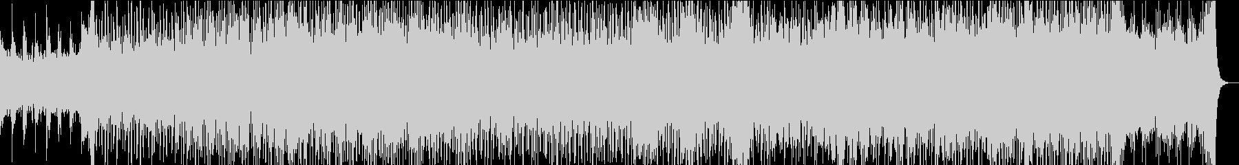 80's シンセウェーブ 近未来的の未再生の波形