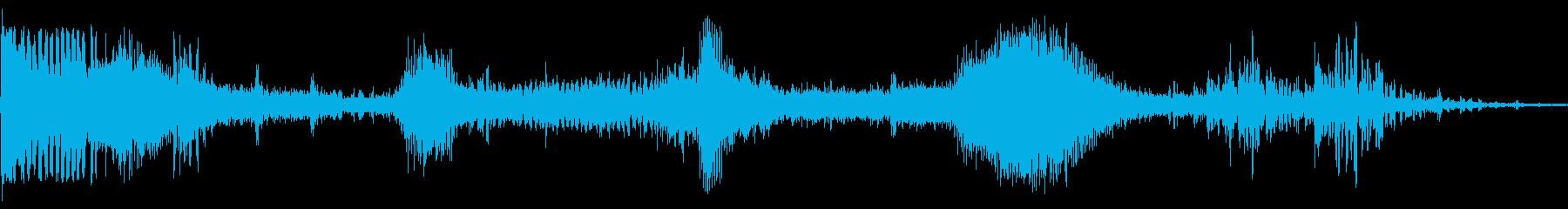 フォードTバードスタート、アイドル...の再生済みの波形