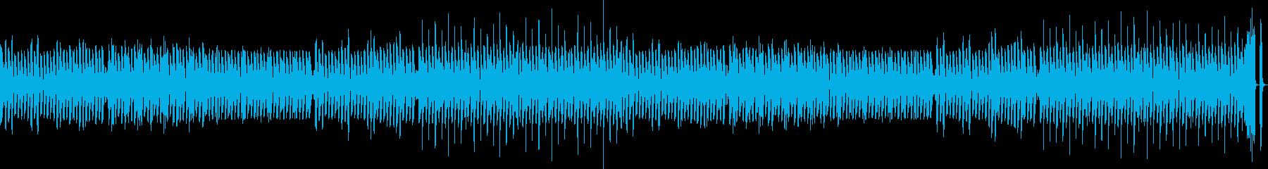 トーク&ゲーム ハッピーアクション155の再生済みの波形