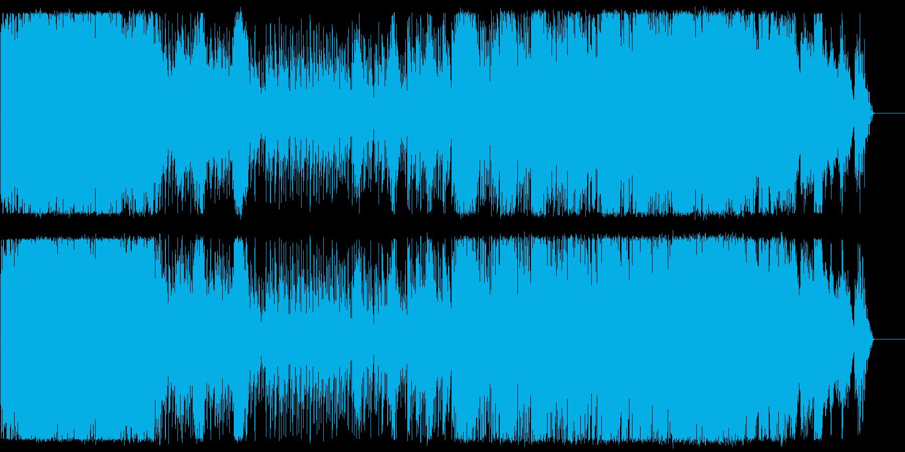 スペーシーな盆踊りをイメージの再生済みの波形