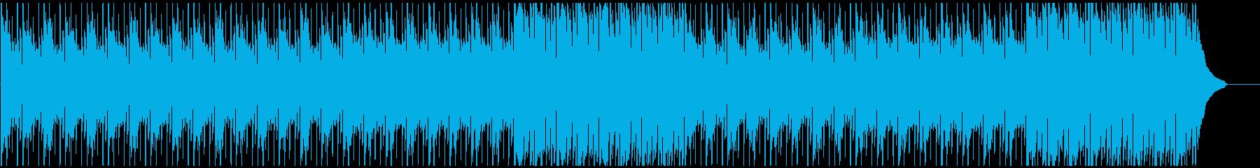 企業VPなどに 新しさを感じる楽曲の再生済みの波形