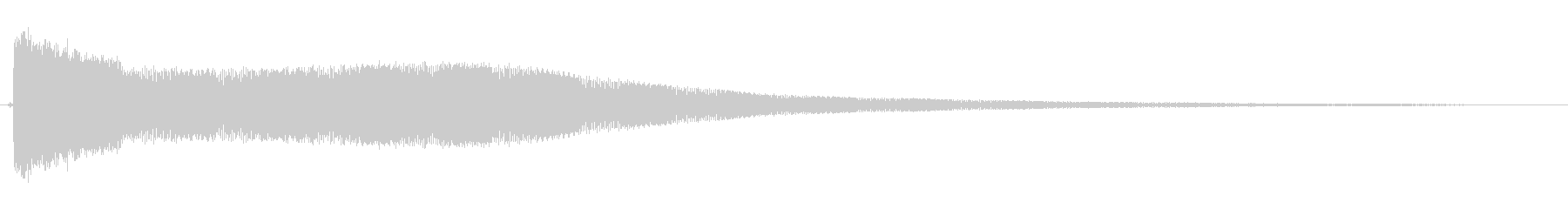 ピロロロローン(宇宙,近未来的)の未再生の波形
