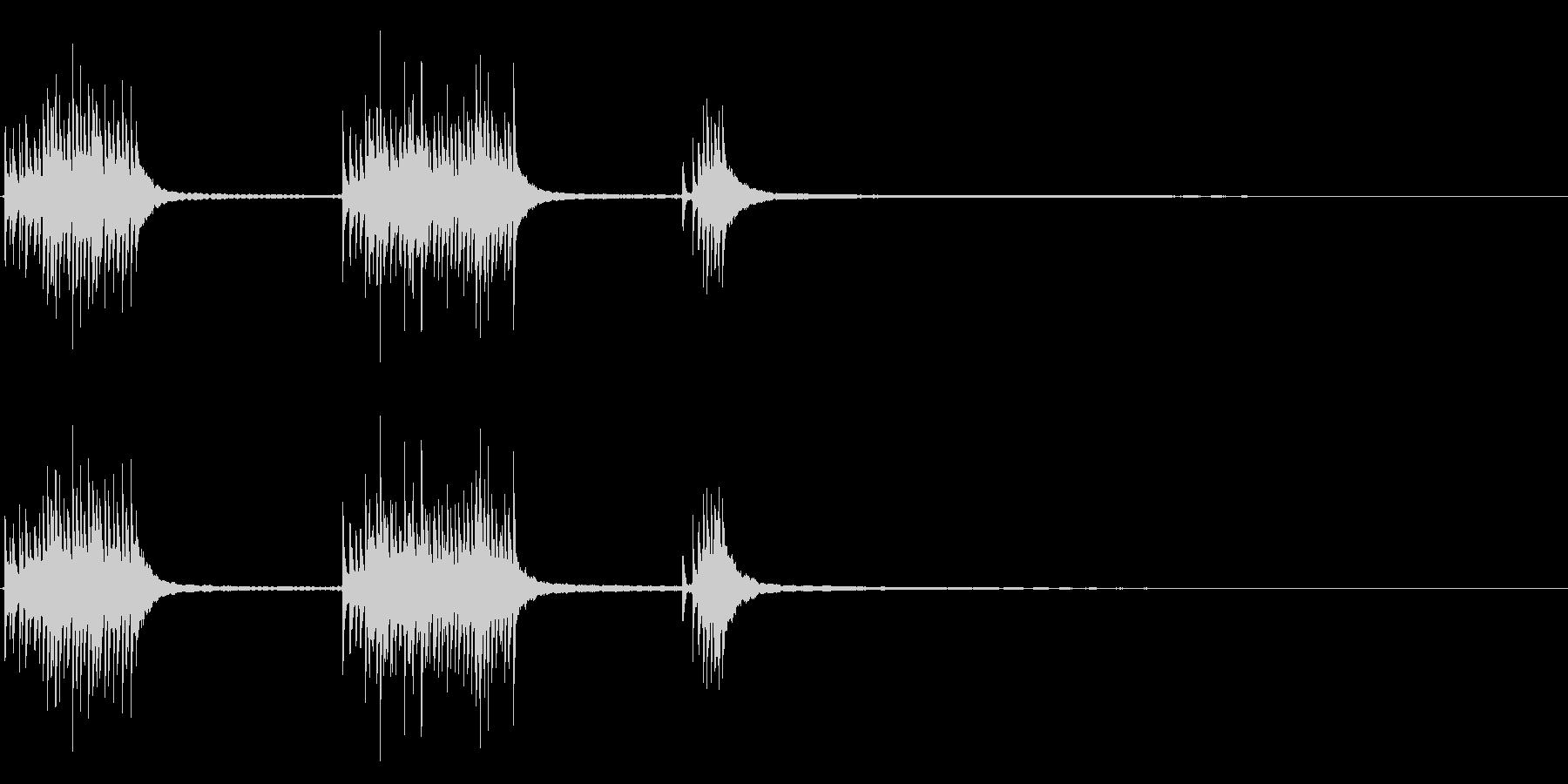 1912年の壁の電話:ベルリングと...の未再生の波形
