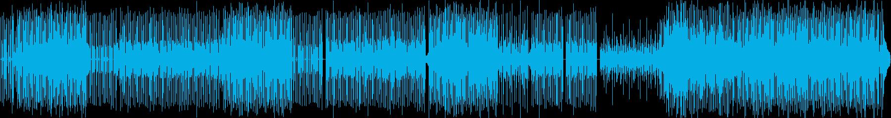 ラテン・レゲエの再生済みの波形
