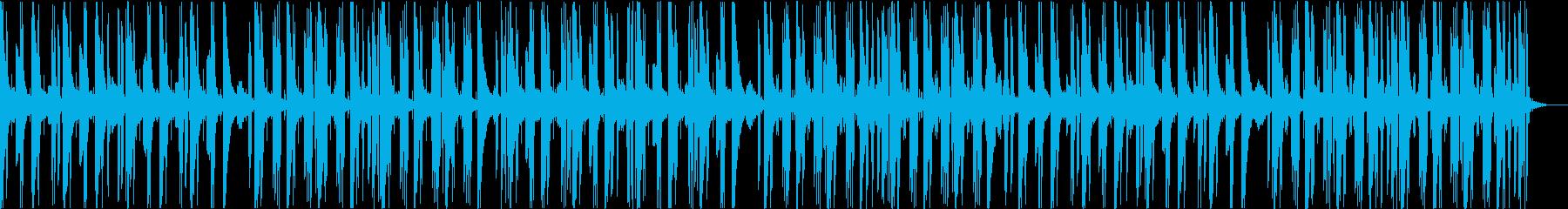 リラックス&浮遊感のあるエレクトロニカの再生済みの波形