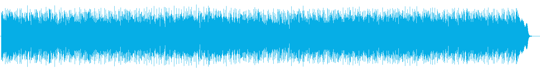 躍動感のあるシンセポップスの再生済みの波形