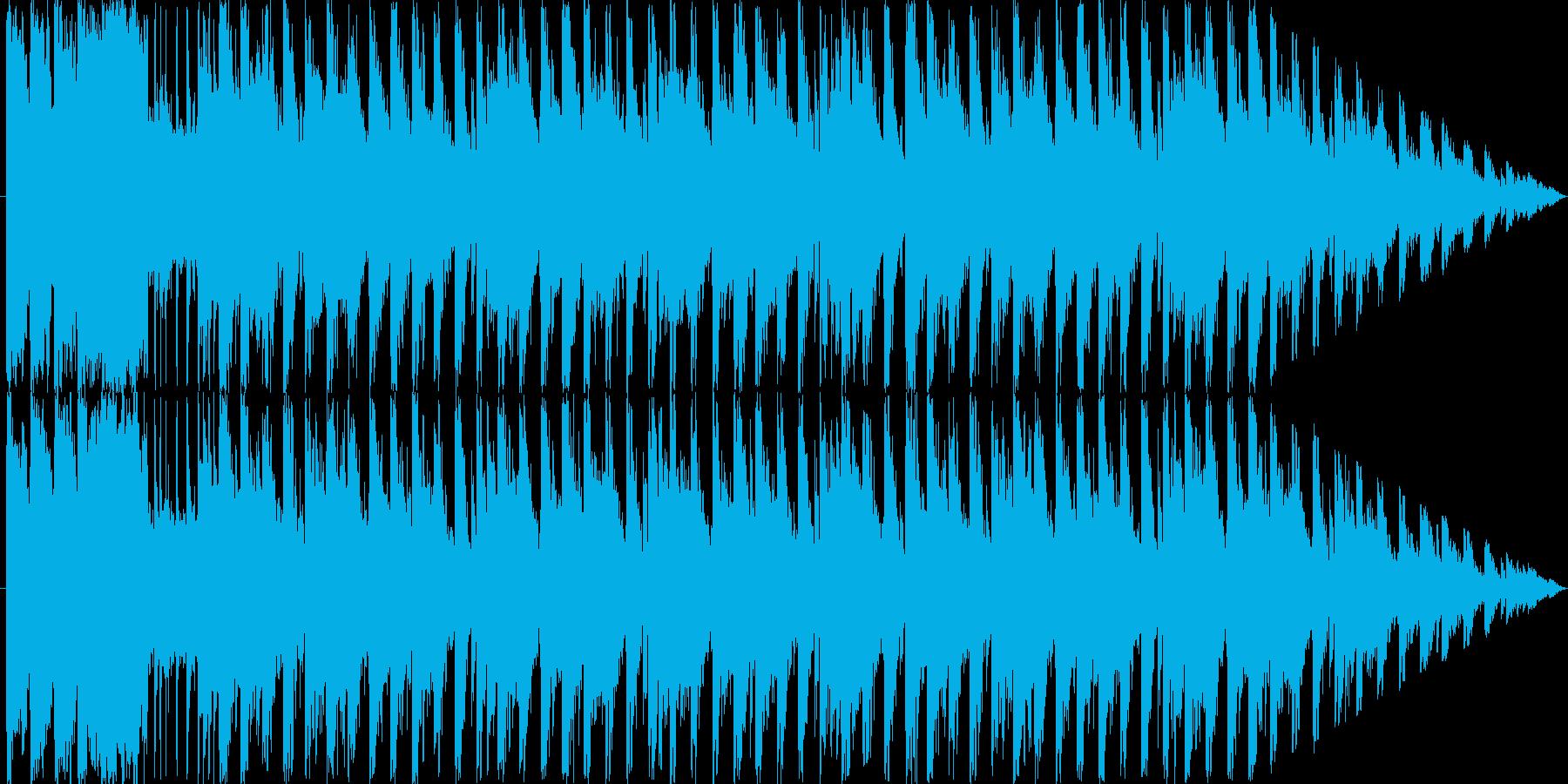 登場系のジングルですの再生済みの波形