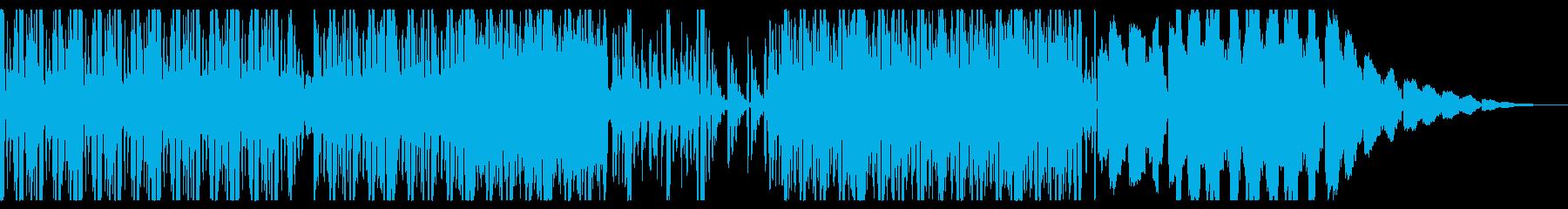 Glitch On Gridの再生済みの波形