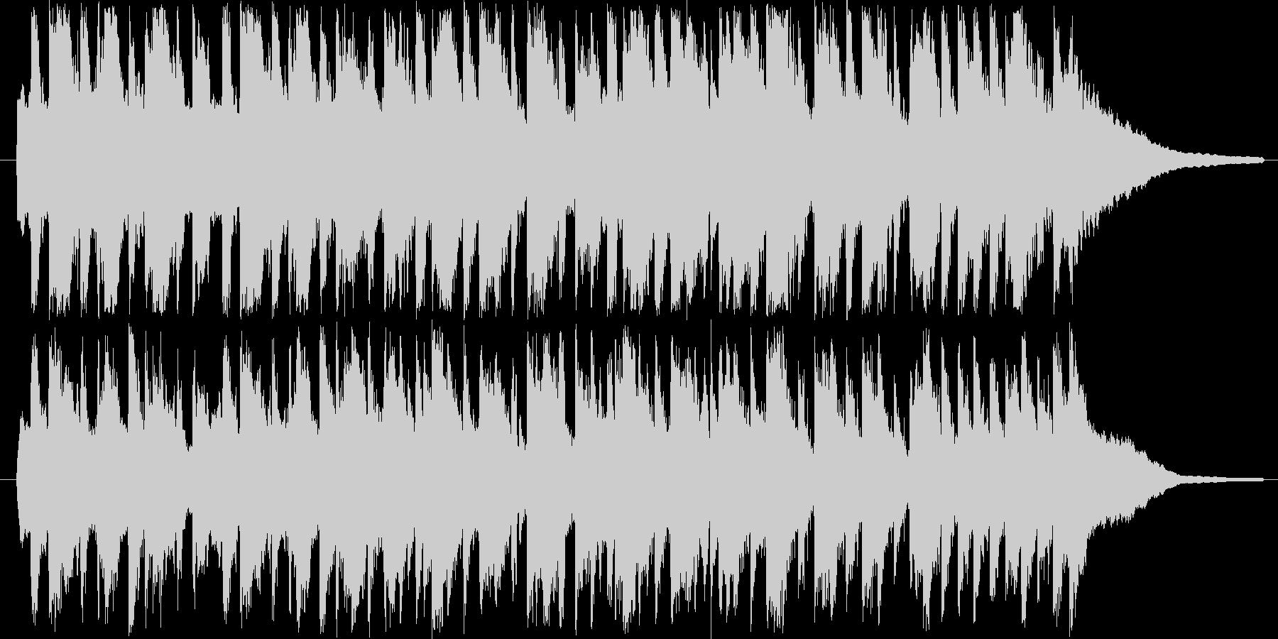 可愛いワルツなオーケストラの未再生の波形