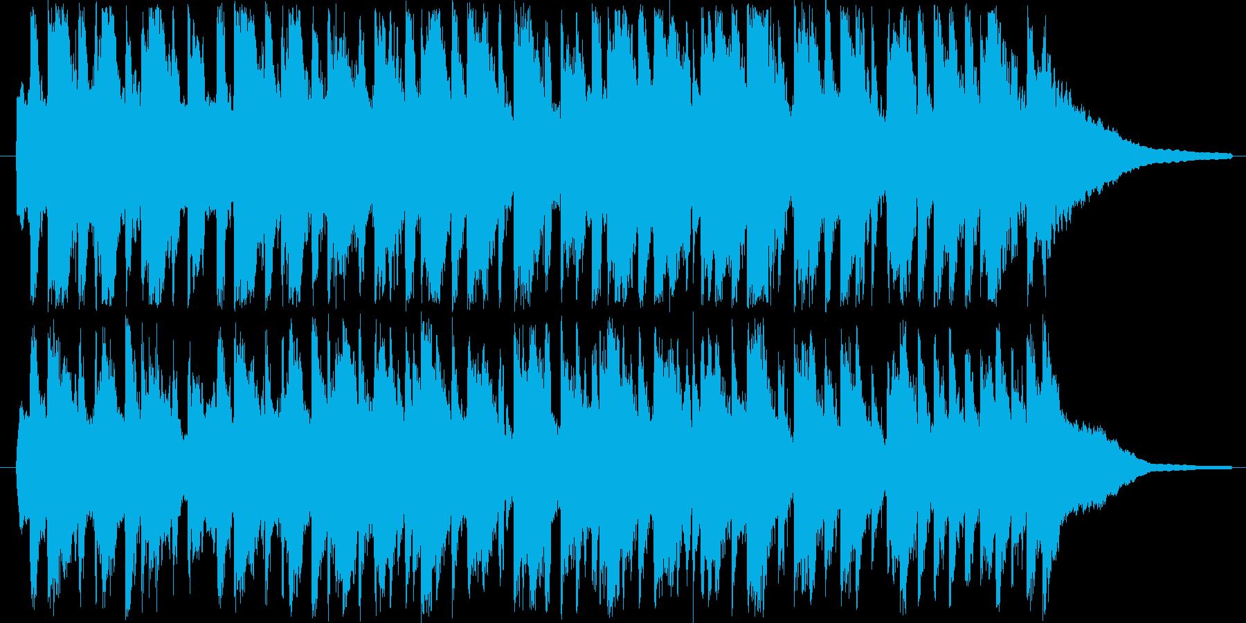 可愛いワルツなオーケストラの再生済みの波形