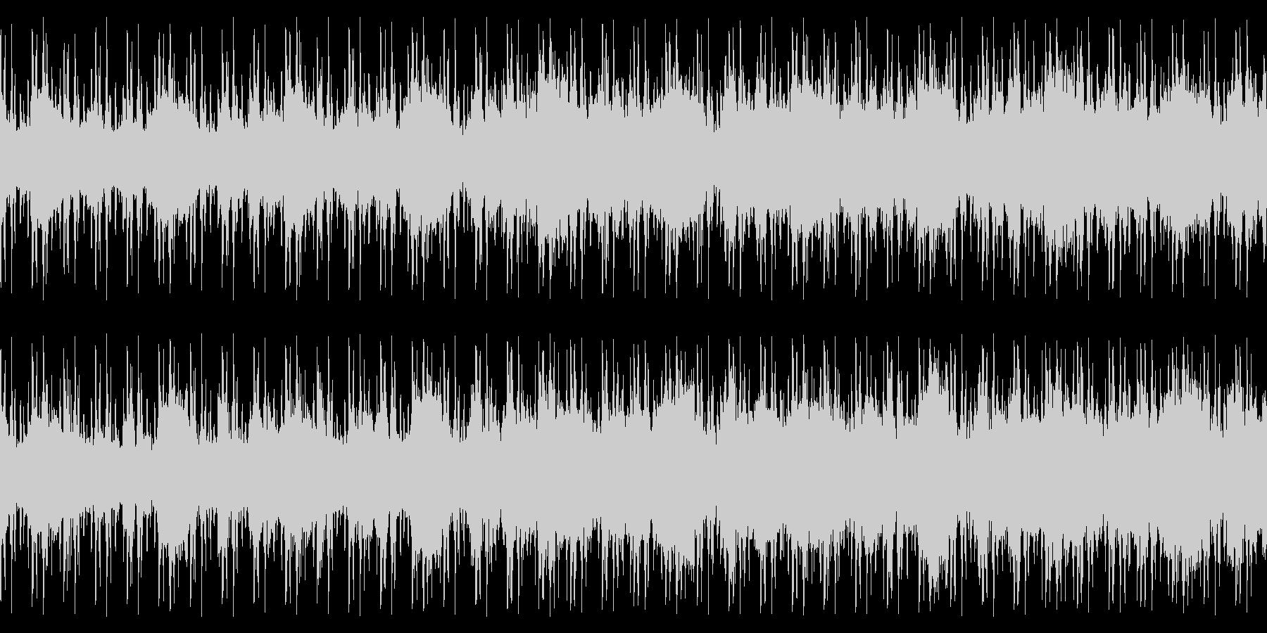 ループ仕様・幻想的なピアノストリングスの未再生の波形