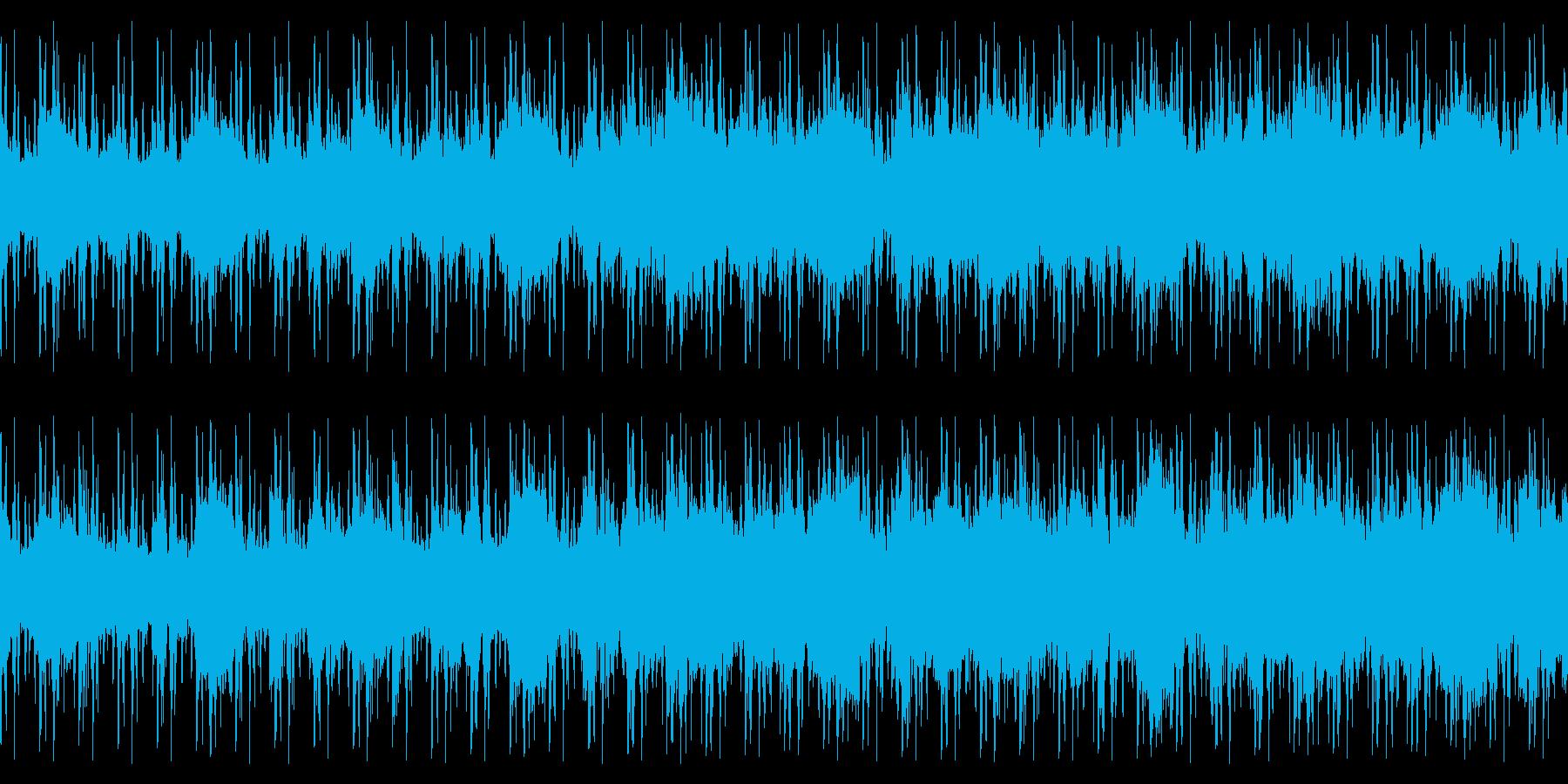 ループ仕様・幻想的なピアノストリングスの再生済みの波形