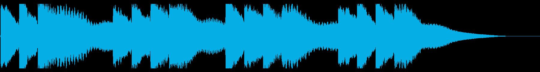 学校のチャイム-2_revの再生済みの波形