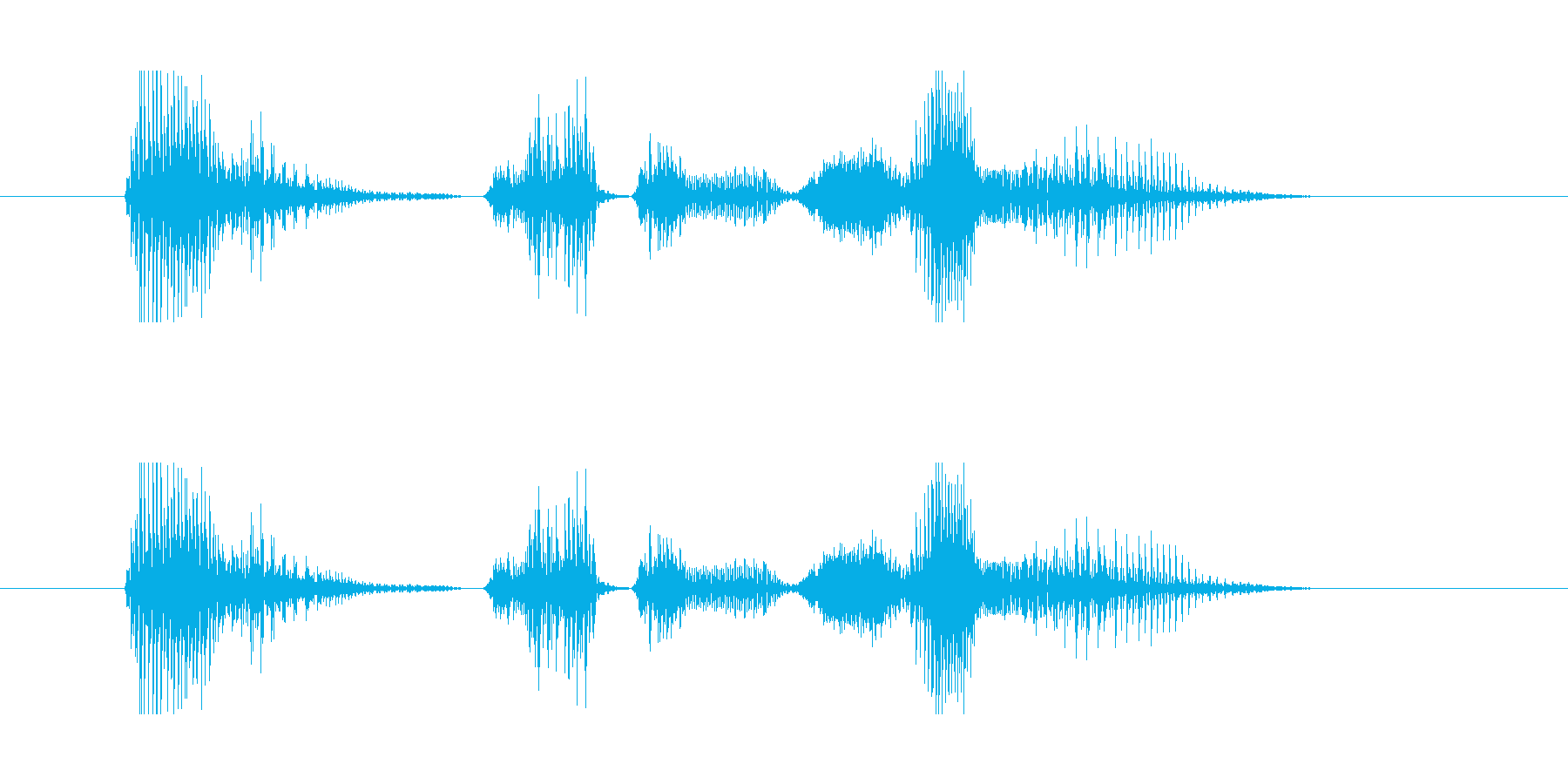 英語/ Japanese SAMURAの再生済みの波形