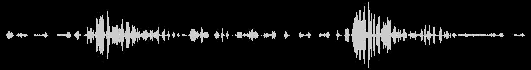 群集 トークラフ01の未再生の波形