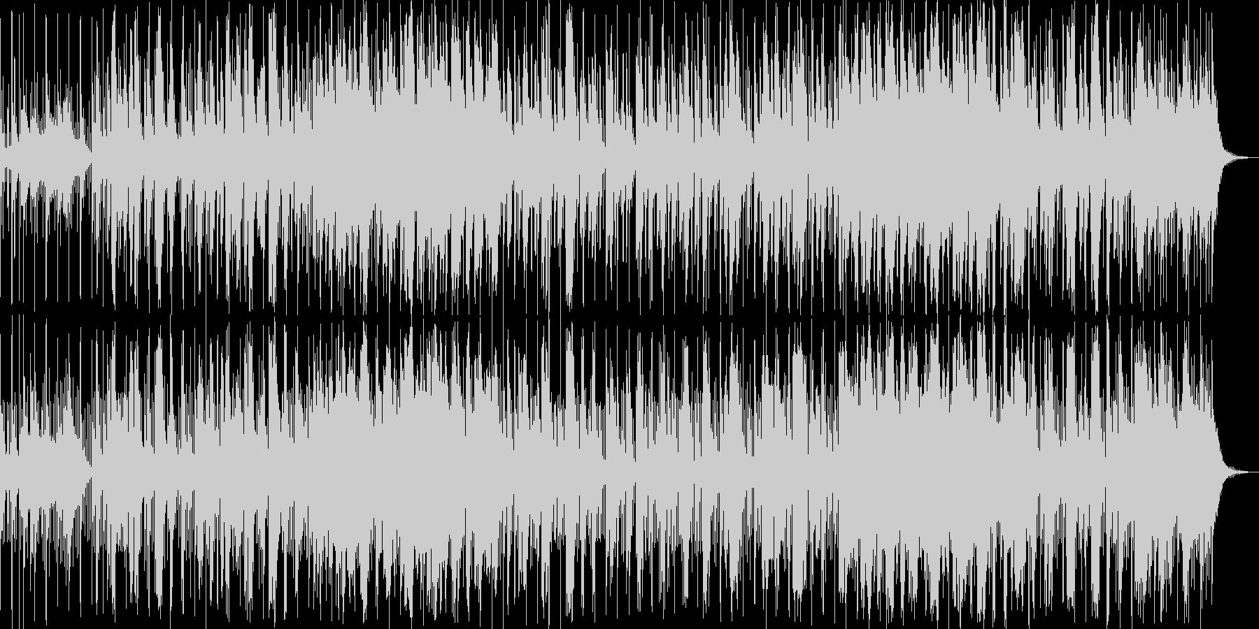 ロマンティックソウルジャズの未再生の波形