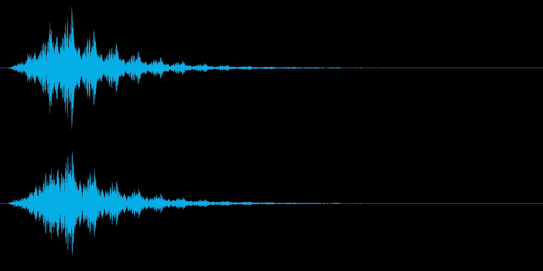 回復/アイテム/ポーションの再生済みの波形