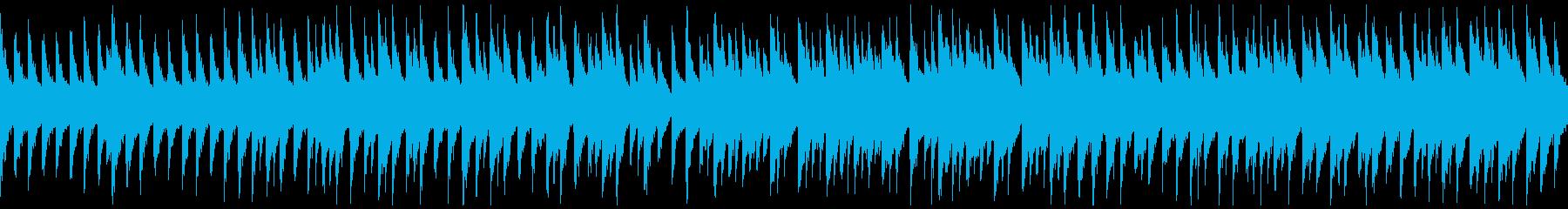 箏・神秘的・淡々・日常・和風BGMの再生済みの波形