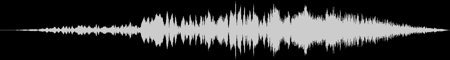 車 レース ブレーキ/タイヤスキール音8の未再生の波形