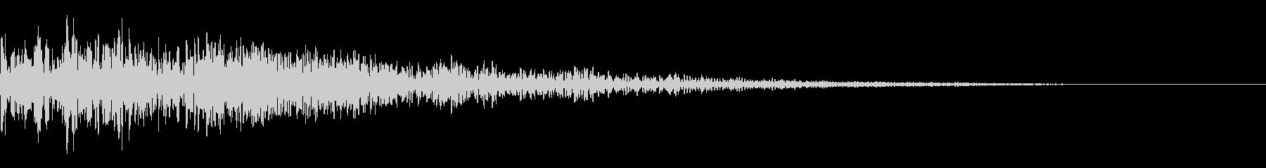 キックドラム、サスティン付きシング...の未再生の波形