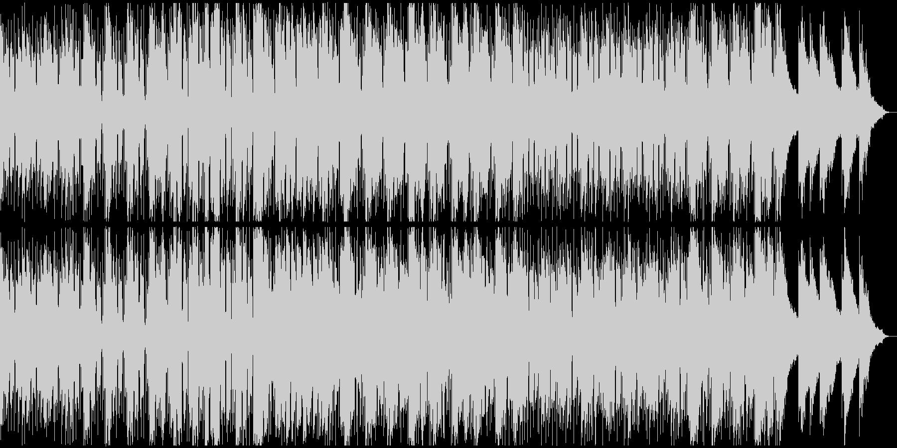 ウェスタン西部劇風のギターの渋いBGMの未再生の波形