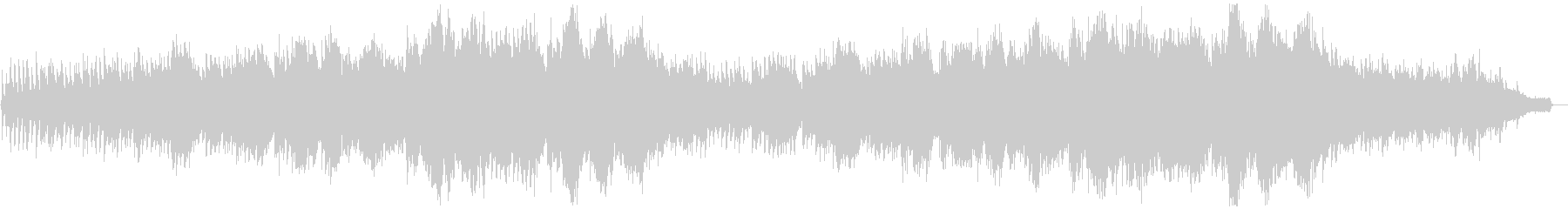 幻想的なカッチーニのアヴェ・マリアの未再生の波形