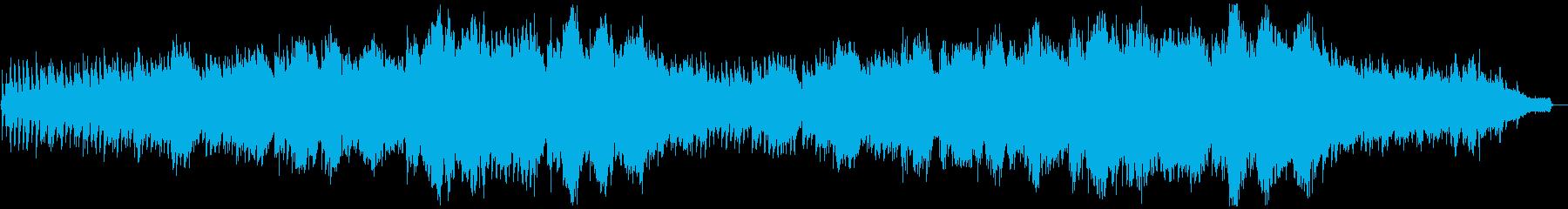 幻想的なカッチーニのアヴェ・マリアの再生済みの波形