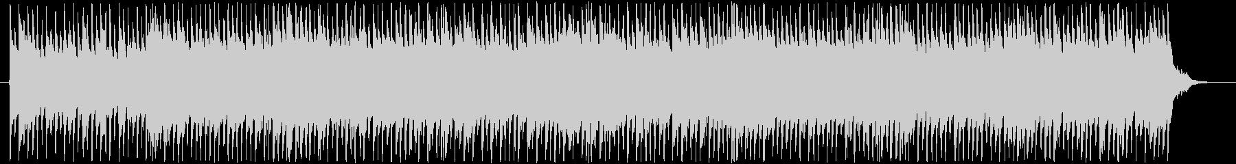 メロディレスの爽やかなアコギロックの未再生の波形