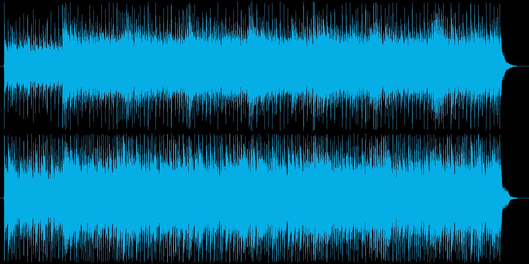 メロディレスの爽やかなアコギロックの再生済みの波形