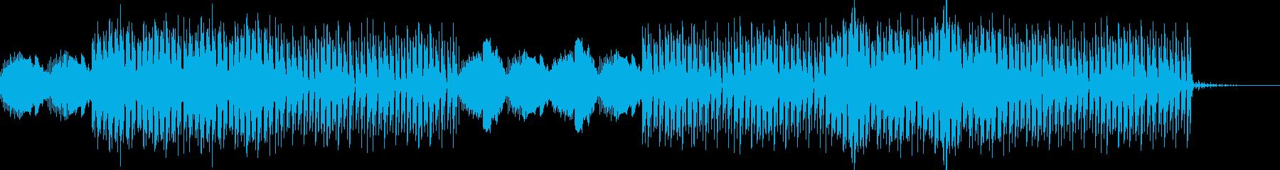 疾走感・ミステリアス・テクスチャーハウスの再生済みの波形