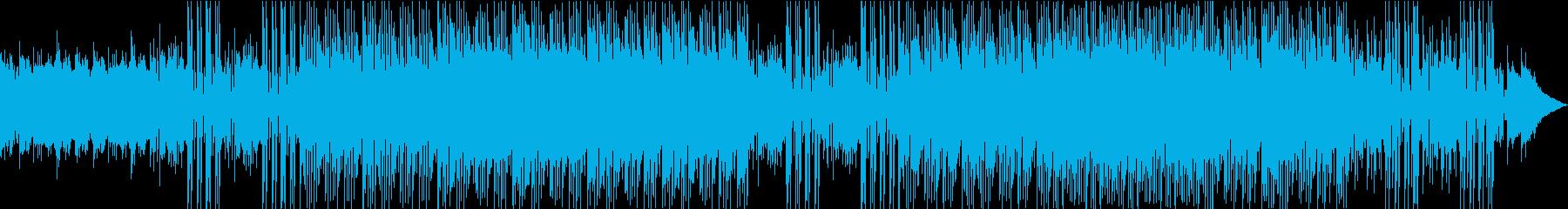 「夜の雰囲気のテクノ」の再生済みの波形