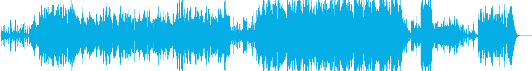 ミュージカルのバラードのような壮大な楽曲の再生済みの波形