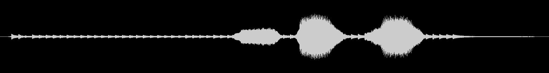 ディーゼル機関車:リングベルとサウ...の未再生の波形