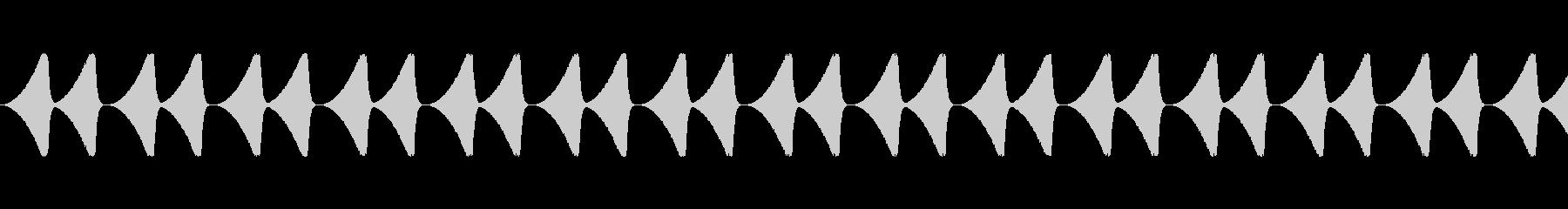 防犯ブザー/鳥の鳴き声/虫の音の未再生の波形