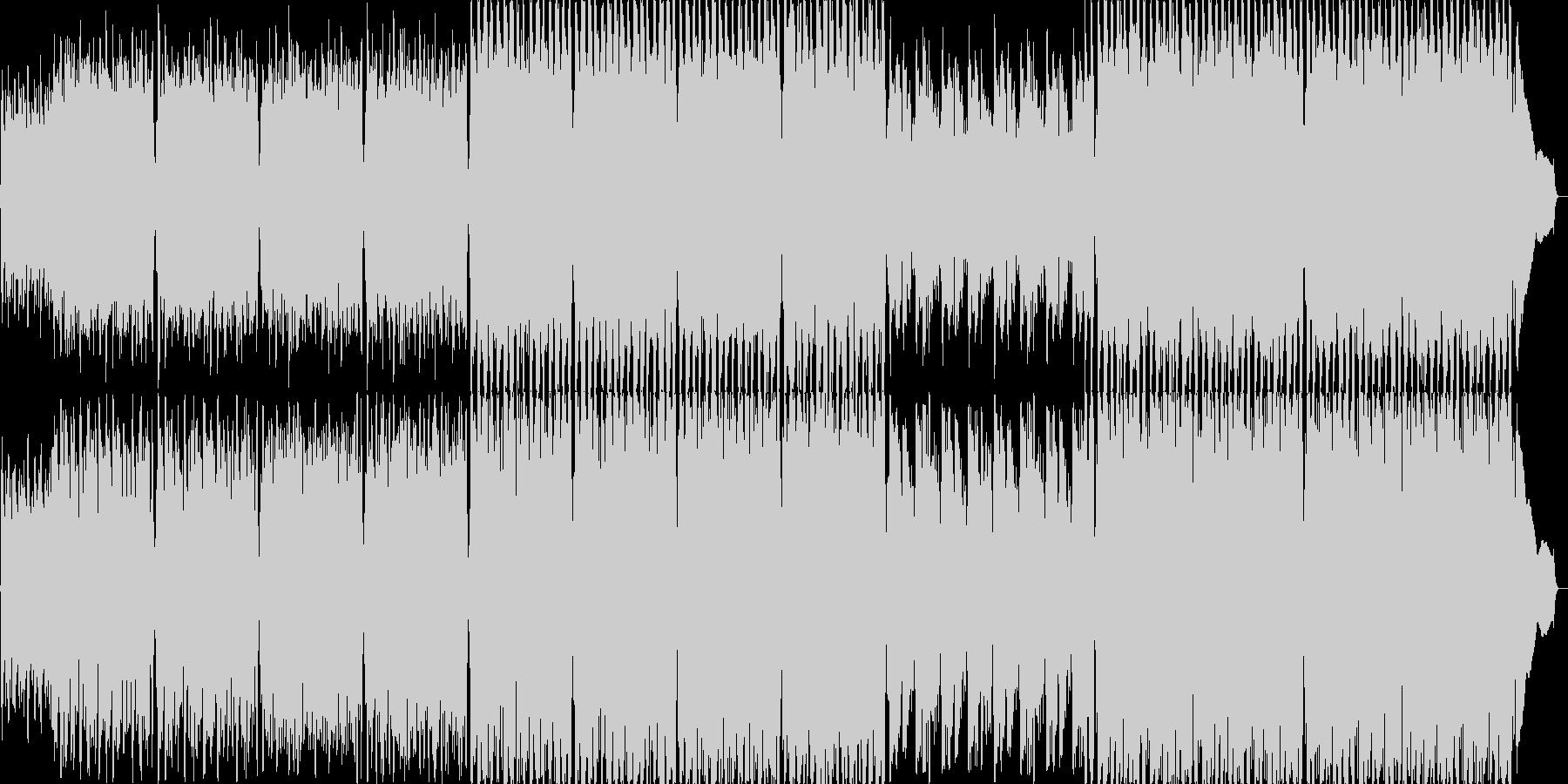 長調のジグ(アイルランド舞曲)の未再生の波形