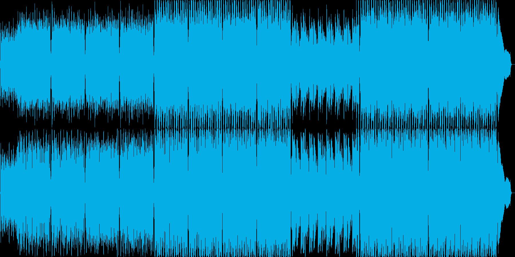 長調のジグ(アイルランド舞曲)の再生済みの波形