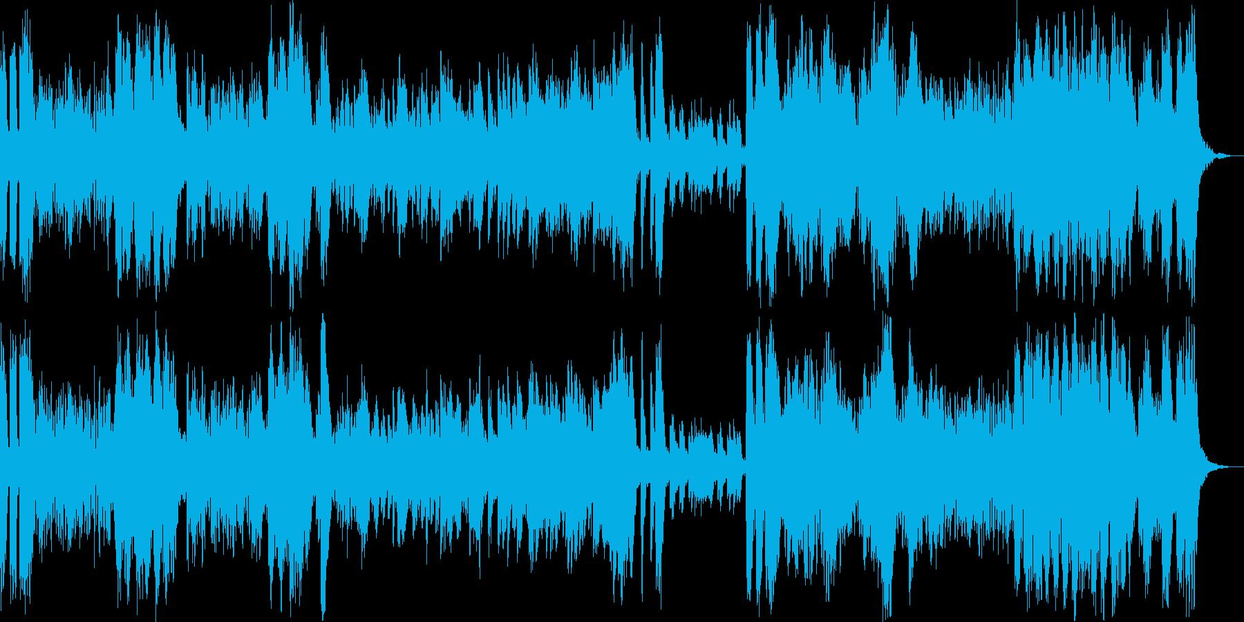運動会にぴったりな吹奏楽のマーチの再生済みの波形