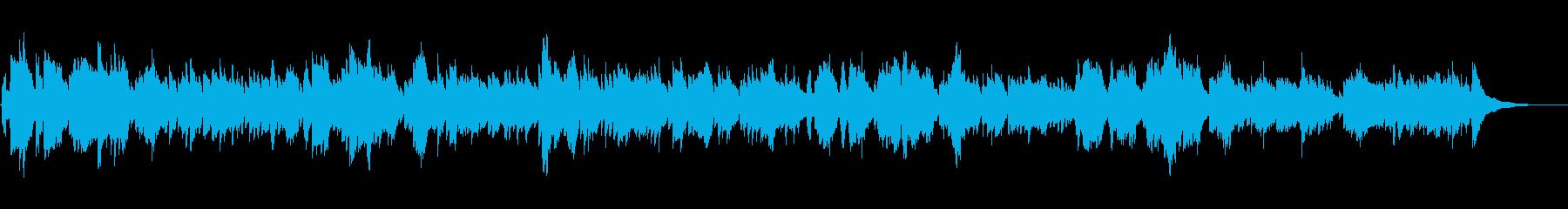 【生演奏 尺八ギター】自然の風景を感じるの再生済みの波形
